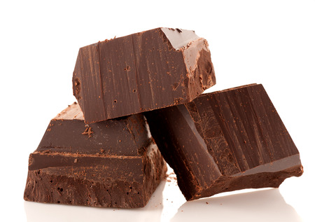 Pure chocola Stockfoto