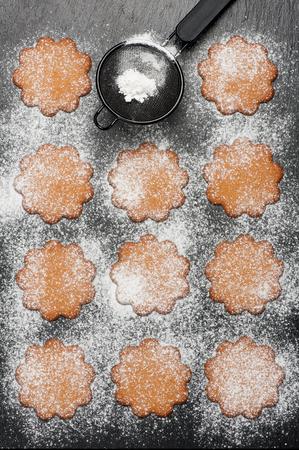 gingerbread cookies: Gingerbread cookies. Christmas baking