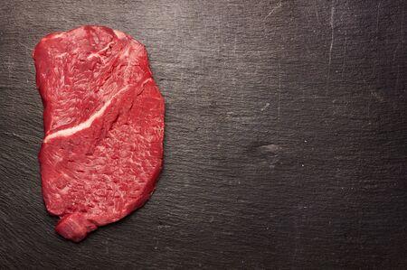 carne asada: Filete de carne cruda