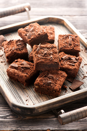 Cake chocolate brownie