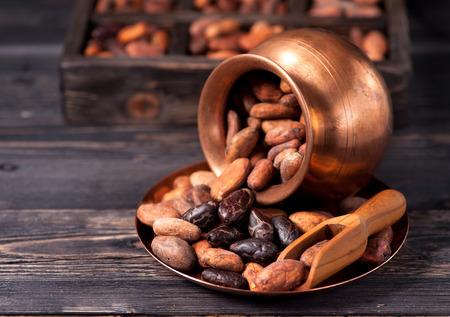 cocoa beans: cocoa beans Stock Photo