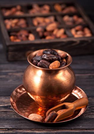 cacao beans: granos de cocoa