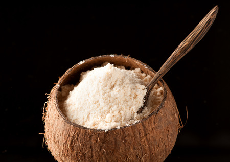 meel Coconut Glutenvrij Stockfoto