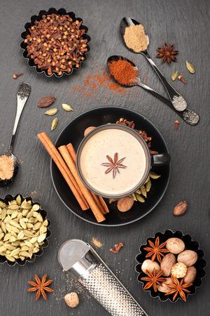 masala chai: Indian masala chai