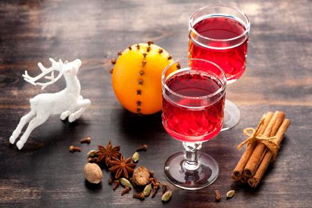 mulled wine: Mulled wine. horizontal