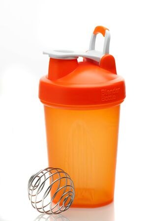 whey: Whey protein shaker