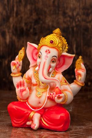 lord ganesha: statue of an Indian god, Lord Ganesha Stock Photo