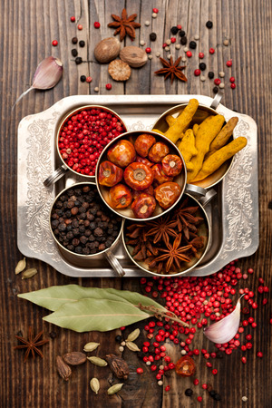 seasoning: Seasoning and spices selection