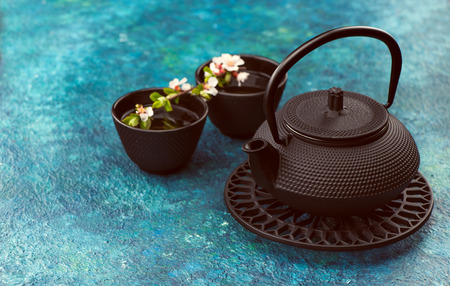 for tea: asian tea set for tea ceremony