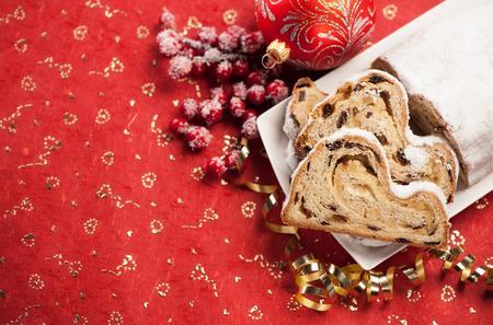 Christmas cake Stollen