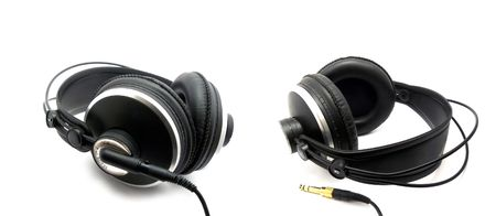 Professional headphones for monitoring audio Stock Photo - 6445809