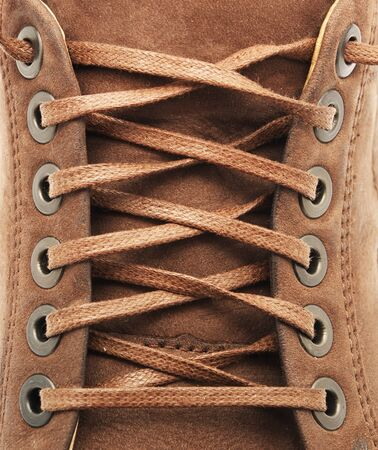 Lace texture of shoe. Element of design. Stock Photo - 7555796