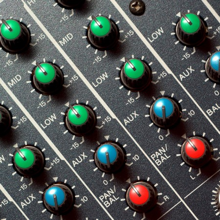Colorful sound mixer. Texture design. Stock Photo - 7555789