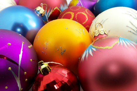 Colorful texture of New Year. Element of design. Stock Photo - 7576705