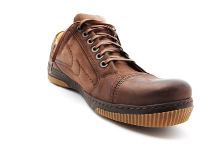 Classical shoe. Element of design. photo