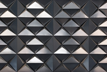 Textured triangle. Element of design. photo