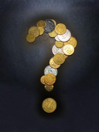 Money question. Element of design.