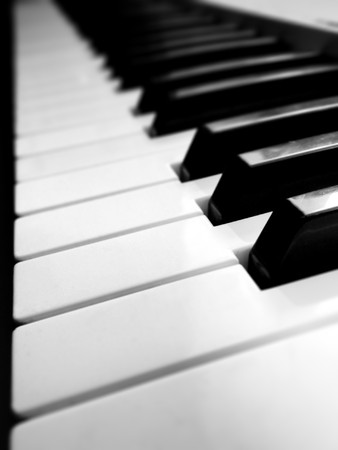 Abctraction piano keys. Element of design. photo