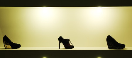 Lady shoeses. Element of design. Stock Photo - 7895596
