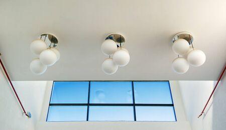 Geometry architecture. Element of indoor design. Stock Photo - 7895595