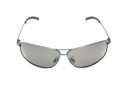 Isolated black classical sunglasses. Element of design. photo