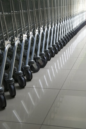 Cart in row. Element of design. photo