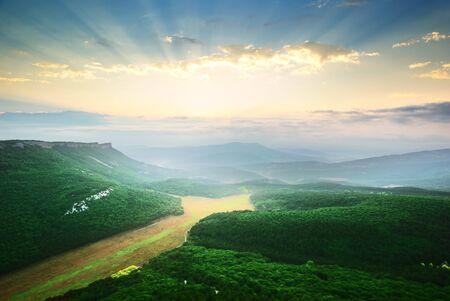 Mountain landscape. Beautiful composition of nature. Stock Photo - 8600158