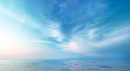 sky: Beautiful seascape. Natural composition of nature.