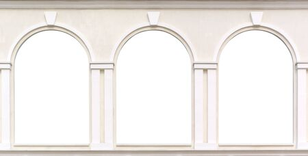 Three windows. Element of design. photo