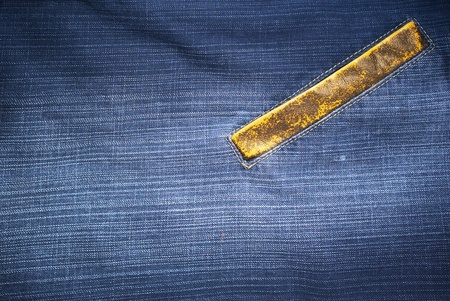 Jeans texture. Element of design. photo