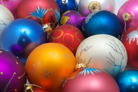 Colorful texture of New Year. Element of design. Stock Photo - 9414246