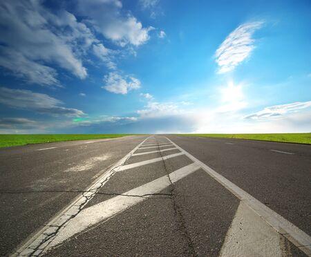 Deep road. Element of dersign. Stock Photo - 9913729