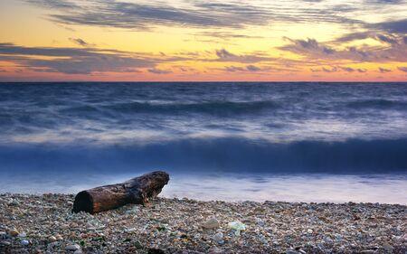 Beautiful seascape. Composition of nature. Stock Photo - 9913714
