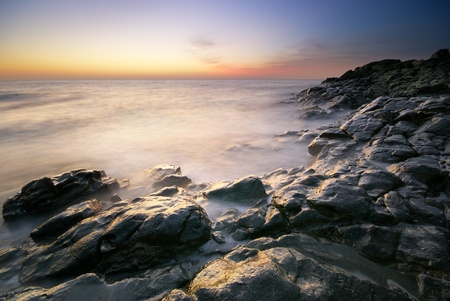 Beautiful seascape. Composition of nature. Stock Photo - 10122272