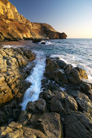 Beautiful seascape. Composition of nature. photo