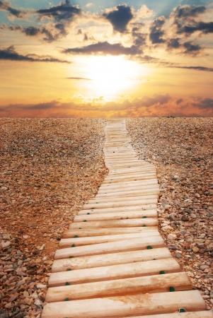 heaven: Camino al cielo. Naturaleza composici�n. Elemento de dise�o. Foto de archivo