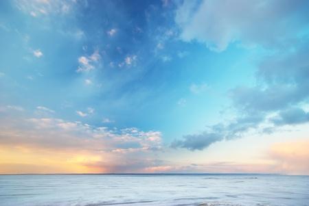 Sky pozadí.