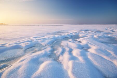 Winter landscape. Composition of nature. Stock Photo - 14040386