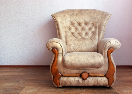 Chair in home  Interior design Stock Photo - 14790610