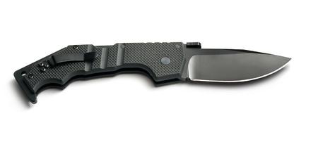 pocket knife: Isolated knife. Element of design. Stock Photo