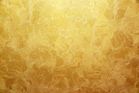 Gold background texture. Element of design. Stock Photo - 20017194