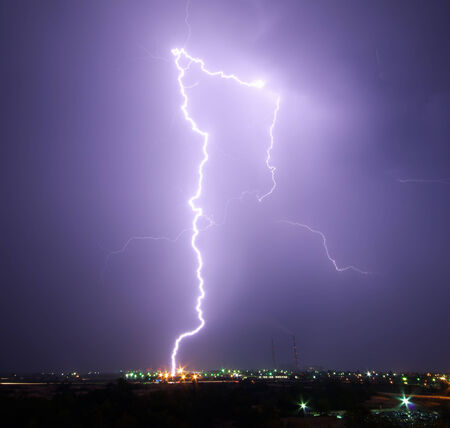 Big lightning photo