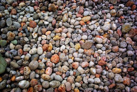 granite park: Texture from round rocks. Element of design.