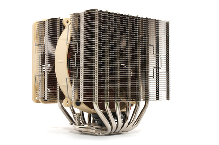 computer equipment: Cooler computer fan equipment. Technology design. Stock Photo