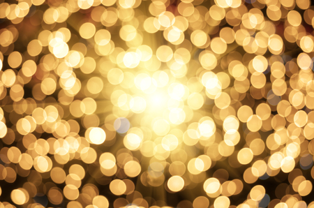 golden light: Golden texture bokeh of light. Element of design.