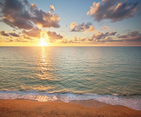 Seascape Natur Komposition. Entspannen Sie sich auf dem Meer.