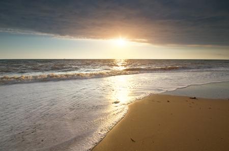 Beautiful seascape. Composition of nature.