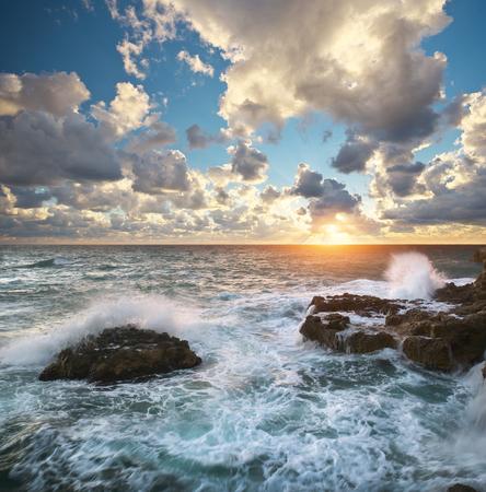 Beautiful seascape.Composition of nature. Stock Photo