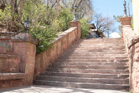 path ways: stone stairs