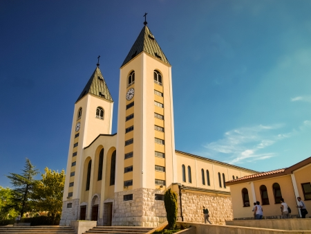メジュゴリエ, ボスニア ヘルツェゴビナの教会 写真素材 - 15844131